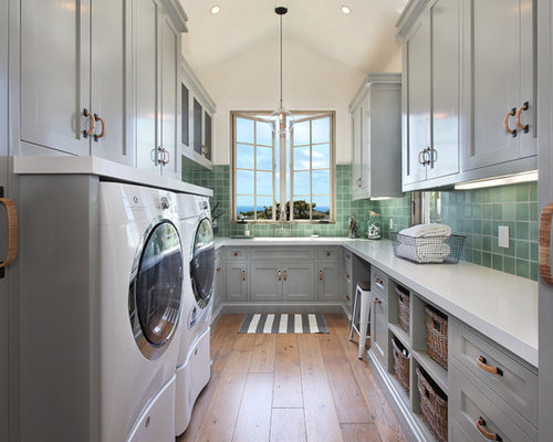Mediterranean build your own laundry room design ideas for Build your own room