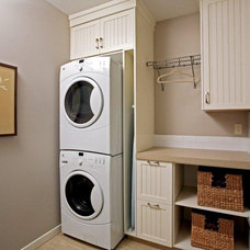 contemporary laundry room by Avonlea Homes