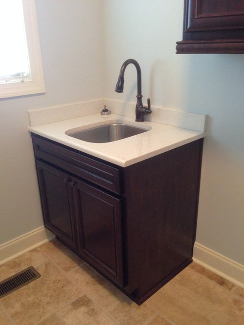 Laundry Sink And Vanity : Large Vanity Sink Laundry Room Design Ideas, Remodels & Photos