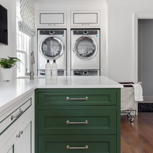 Design ideas for a traditional utility room in Denver.