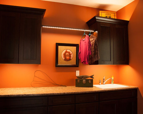 Example Of A Classic Laundry Room Design In Other