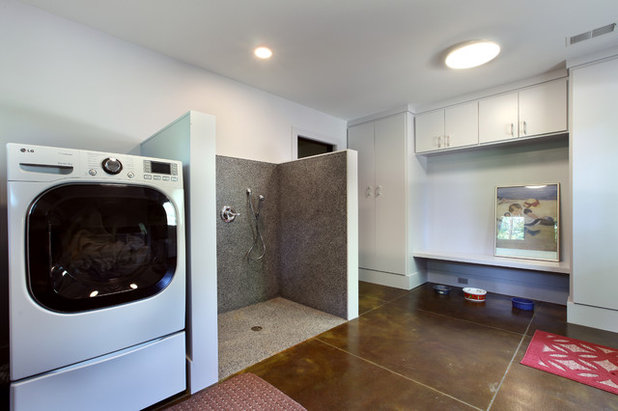 Rustic Laundry Room by Scott Christopher Homes