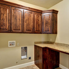 Traditional Laundry Room by The Design Room