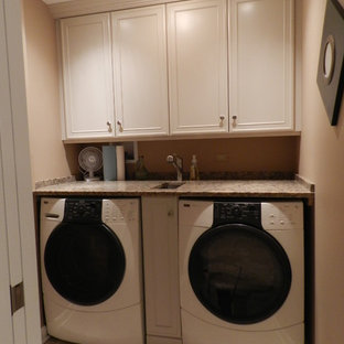 Inspiration for a timeless laundry room remodel in Chicago