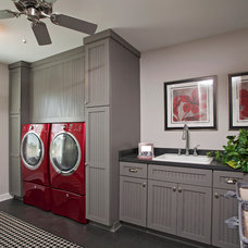 Contemporary Laundry Room by Homes by Tradition