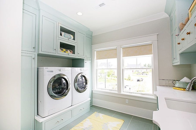 Eclectic Laundry Room by Four Chairs Furniture