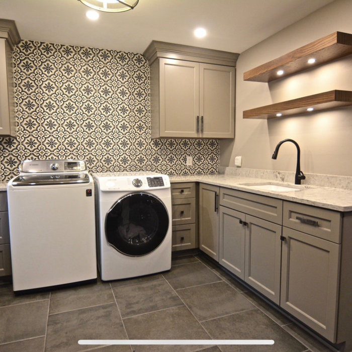 Silverthorne | Transitional | Laundry Room | Interior Design