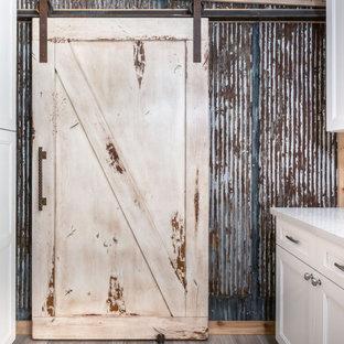 Sliding Barn Door - Knotty Alder Sliding Door - Cloud Sliding Door