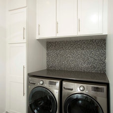 Modern Laundry Room by Michael Nash Design, Build & Homes