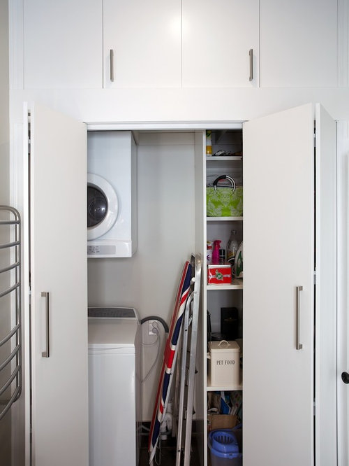 23 Small Laundry Room with Black Cabinets Design Ideas & Remodel Pictures | Houzz