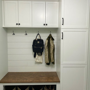 Small Mudroom Laundry Room