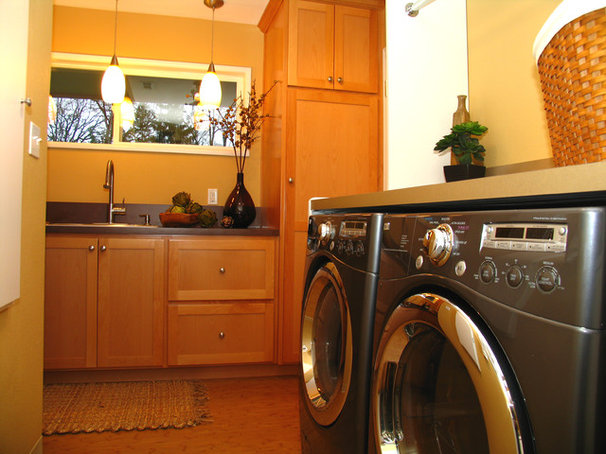 Double duty savvy 10 supersmart laundry room combos - Wendy o brien interior planning design ...