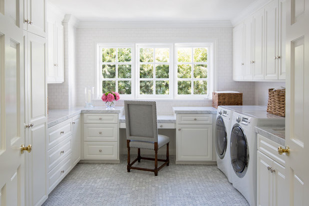 Traditional Laundry Room by JODI FLEMING DESIGN