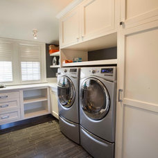 Transitional Laundry Room by John Johnstone