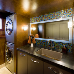 contemporary laundry room by Jaque Bethke for PURE Design Environments Inc.