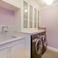 Traditional Laundry Room by JCA ARCHITECTS
