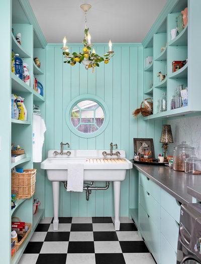 Eklektisk Tvättstuga by Dillon Kyle Architects (DKA)