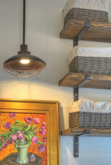 Beach Style Laundry Room by Georgia Coast Design & Construction