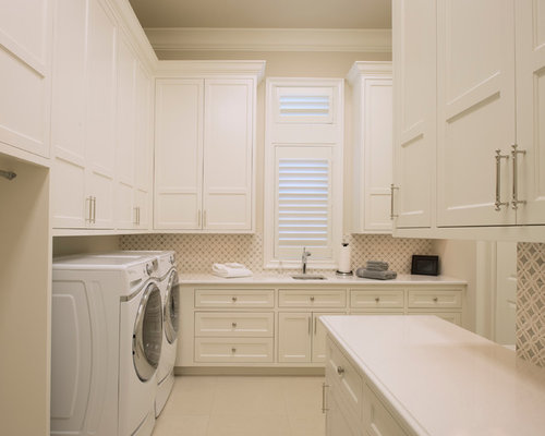 Laundry room cabinet home design ideas pictures remodel for Laundry room cabinets
