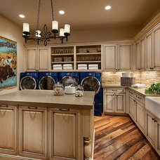Traditional Laundry Room by Calvis Wyant Luxury Homes