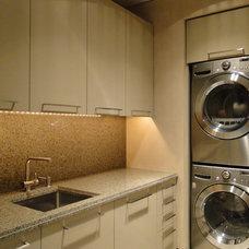 Contemporary Laundry Room by David J. Wade Inc, Architect