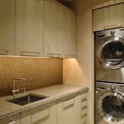 Phoenix Stacked Washer And Dryer Laundry Room Design Ideas, Pictures ...