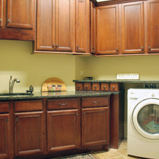 Traditional Laundry Room by Blue Line Design