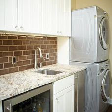 Traditional Laundry Room by Patrick Murphy Builders, LLC