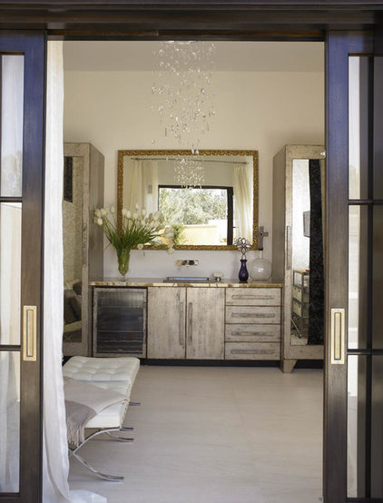 Contemporary Laundry Room by Amy Noel Design