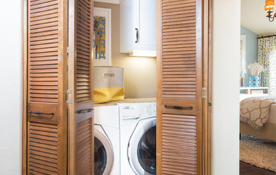 10 Ingenious Spots to Place the Washing Machine
