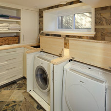 Modern Laundry Room by Louis Pardoe