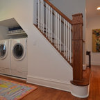 Laundry room bathroom traditional laundry room montreal for Bathroom remodel 73012