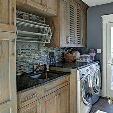 Traditional Laundry Room by Aspire Metro magazine