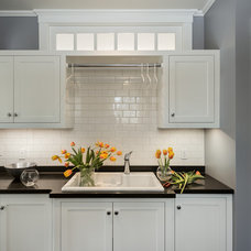 Traditional Laundry Room by Whitten Architects