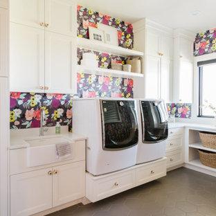 Immagine di una lavanderia tradizionale
