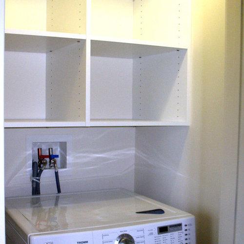 Foton och inredningsidéer för moderna tvättstugor i Providence
