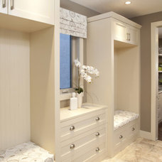 Contemporary Laundry Room by Gavin Rae / Legacy Kitchens