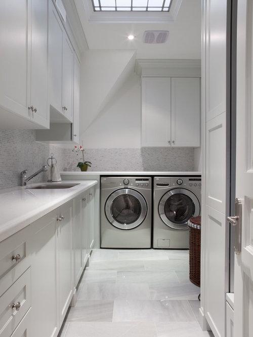 Large laundry room design ideas renovations photos - Large laundry room ideas ...