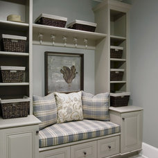 Traditional Laundry Room by Rockwood Cabinetry