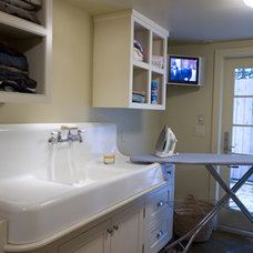 Traditional Laundry Room by Bockman + Forbes Design