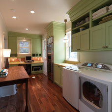 Traditional Laundry Room by Phillip W Smith General Contractor, Inc.