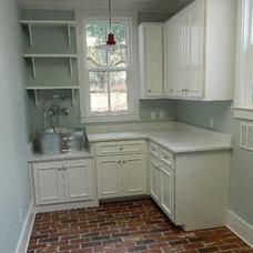 Farmhouse Laundry Room by Jennifer Taylor Design