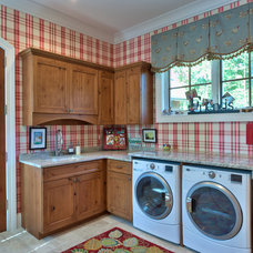 Traditional Laundry Room by Advance Cabinetry