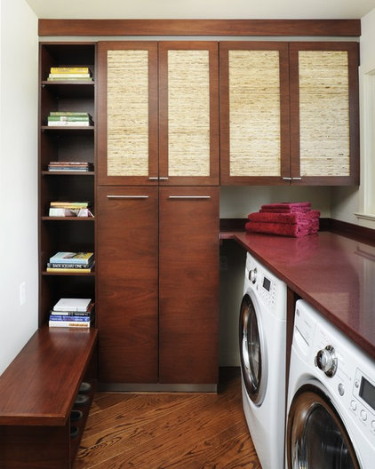 Contemporary Laundry Room by Susan M. Davis