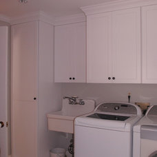 Traditional Laundry Room by Robin's Custom Woodworks, LLC