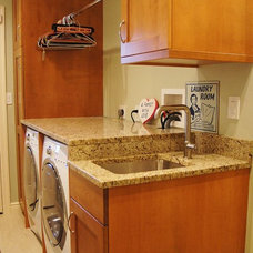 Traditional Laundry Room by Today's Kitchens
