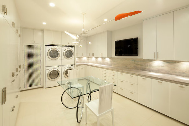 Contemporary Laundry Room by Curtis Laney & Laney, The Design Company, Inc.