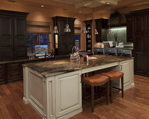 kitchen colours with dark cabinets terracotta paint colors houzz 21566