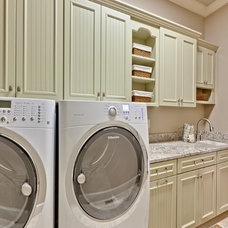 Traditional Laundry Room by Turan Designs, Inc.