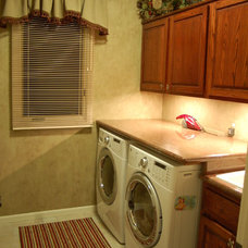 Traditional Laundry Room by Fabulous Finishes Inc